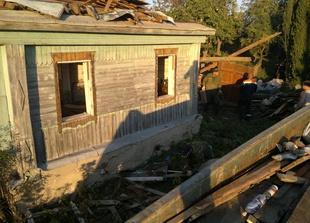 Демонтаж деревянного дома